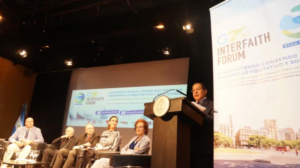 Kaiciid convoca a referentes de los credos al Foro Interreligioso del G20