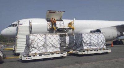 Un cargamento con medicamentos ruso para Catamarca está varado en Buenos Aires