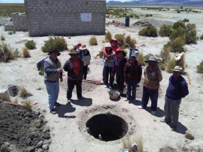 Benefician a comunidades de la puna con 20 millones para obras hídricas