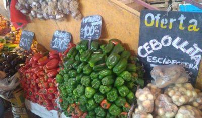 Frutas y verduras: En las últimas semanas hubo aumentos del 50 al 200%