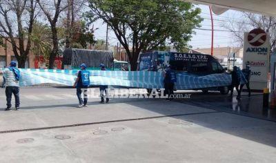 El Sindicato de Obreros de Estaciones de Servicios y Garajes se declaró en alerta y movilización