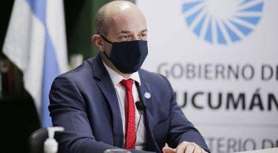 Lichtmajer descartó el regreso a clases en Tucumán, luego de que Nación aprobara el protocolo para la vuelta a la actividad