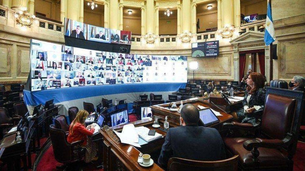 El kirchnerismo logró destrabar las sesiones remotas del Senado y generó una fuerte discusión interna en Juntos por el Cambio