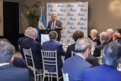 Confianza, inversiones, FMI y Vaca Muerta: ocho definiciones de Alberto a los empresarios extranjeros