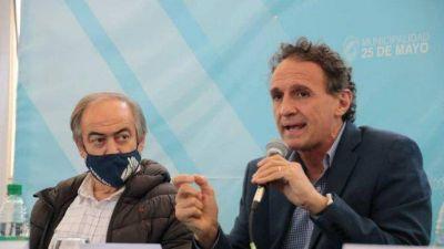 Tapalqué: Cocconi firmó dos convenios para obras públicas