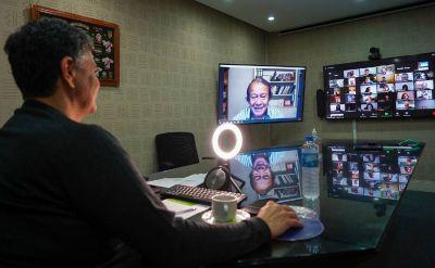Jorge Macri y Toty Flores charlaron sobre participación ciudadana