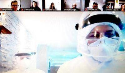 UTHGRA realizó un nuevo videotaller de capacitación para el día despues de la pandemia