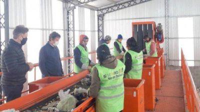 Firmat puso en funcionamiento planta de tratamiento de residuos