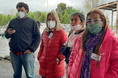 Ecopunto: Acumar, el municipio y recicladores locales comenzarán con la gestión de residuos