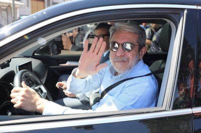 Aníbal Fernández se reunió con el Presidente por segunda vez en 48 horas