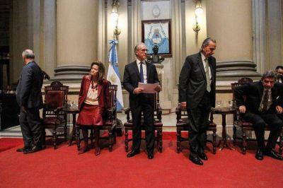 Comisión Interpoderes: un encuentro de pocos, en rechazo a la jugada de Carlos Rosenkrantz