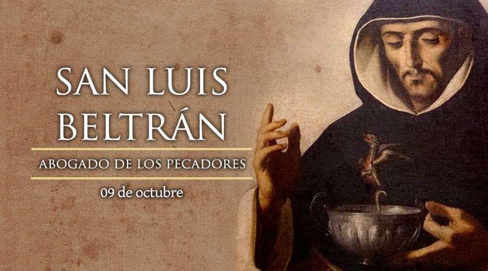 Hoy celebramos la fiesta de San Luis Beltrán, patrono de Colombia