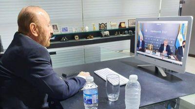 Gildo Insfrán participó de reunión con el Presidente y gobernadores para analizar medidas frente a la pandemia