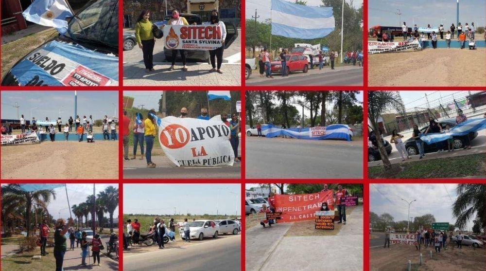 Federación Sitech reclama el pago de la cláusula gatillo en su XI caravana