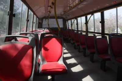 Se suspende todo el transporte público en el Gran Resistencia