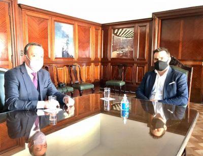 Karlen y el secretario de Energía de la Nación analizaron obras