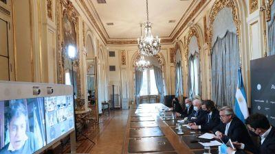 Contacto entre Valdés y el Presidente para analizar nuevas medidas anticovid-19