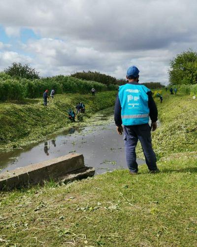 Nuevos operativos de limpieza y saneamiento en arroyos