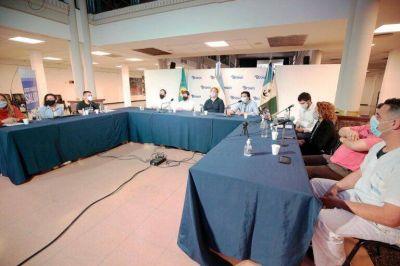 Cascallares encabezó la primera Jornada Virtual de Enfermería en Brown