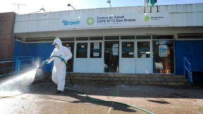 Brown: se registraron otras cuatro muertes por Covid-19