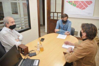 Autoridades comunales y concejales acordaron la agenda de la visita del ministro Augusto Costa