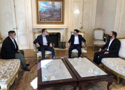 Agustín Celi se reunió en la Rosada con el director general de Audiencias Presidenciales