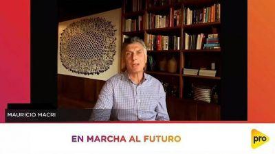 Mauricio Macri llamó a seguir batallando para normalizar el país: