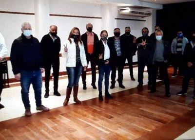 Sin barbijo ni distanciamiento se volvió a reunir el grupo que impulsa a Berni de candidato