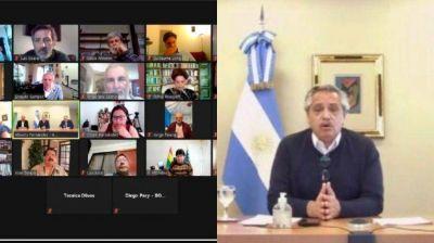 Dilma, Lugo, Correa y Evo apoyaron a Alberto Fernández tras la condena a Venezuela