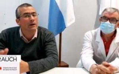 Rauch perdió el invicto: Tras 206 días de cuarentena, el Intendente confirmó el primer caso de coronavirus