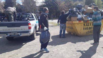 Funcionarios recolectaron la basura ante la negativa de ATE