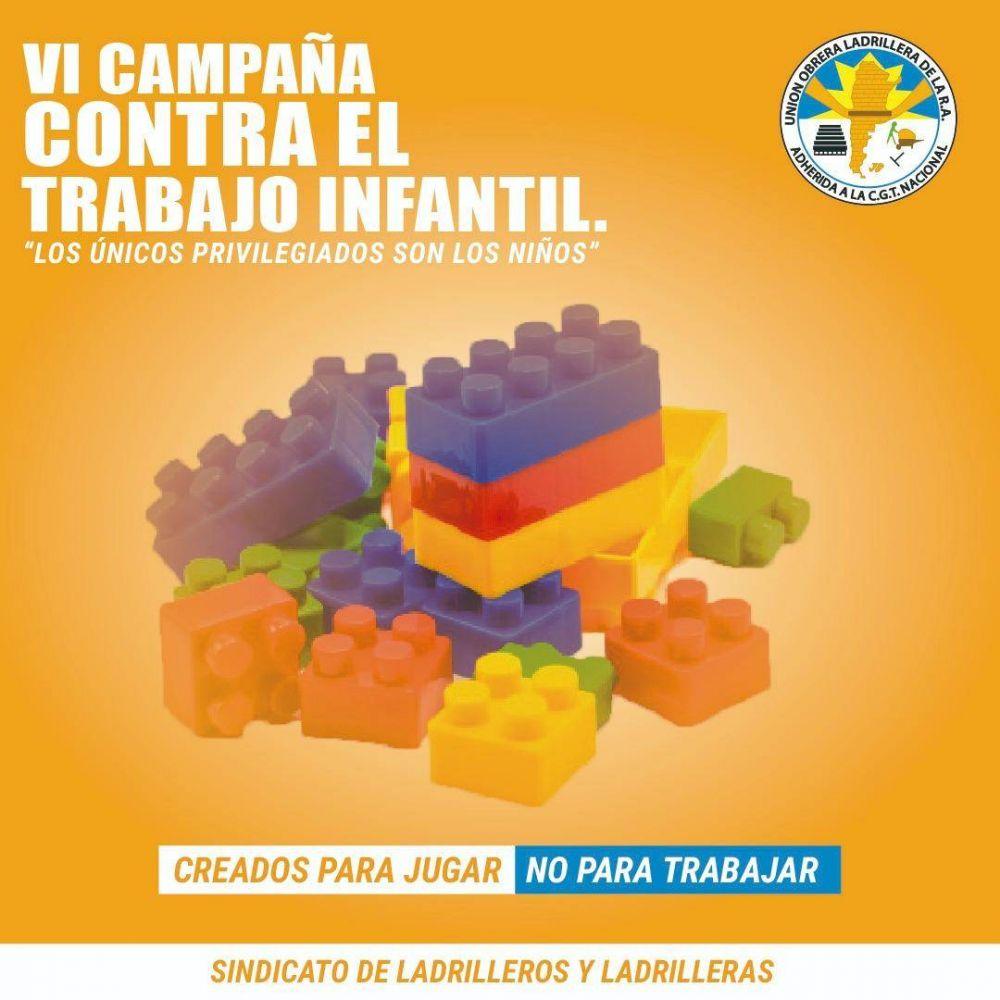 La UOLRA lanza su sexta campaña contra el trabajo infantil