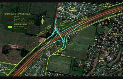 En detalle: la obra en la autopista que intentará solucionar el tránsito de 10 mil personas