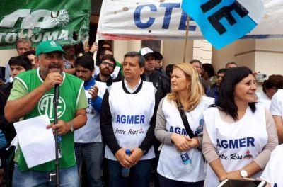 Nueva semana con desconexión virtual docente y marcha de estatales