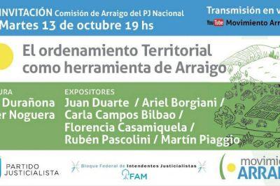 Hábitat: Piaggio expondrá sobre ordenamiento territorial
