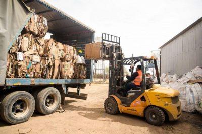 La Cooperativa de Trabajo de Separación de Residuos procesó 160 toneladas
