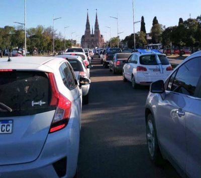 Fuerte movilización contra el Gobierno en Luján y distintas ciudades
