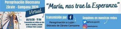 """La Peregrinación a Luján será """"virtual"""" y la Misa el próximo 1° de noviembre"""