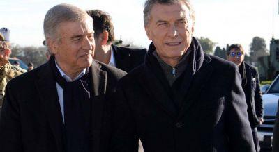 """Bajo palabra: Aguad apuesta a su sólido vínculo con Macri para """"estar"""" en 2021"""