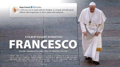 Película: Papa Francisco y el mundo en los tiempos de la pandemia