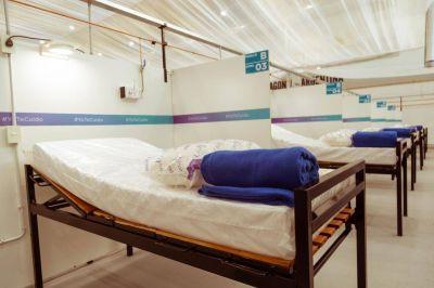 Ushuaia: traslado de pacientes leves