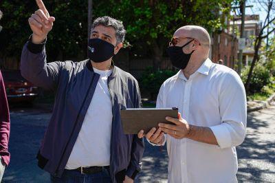 Vicente López instala nuevas cámaras de seguridad con mayor tecnología