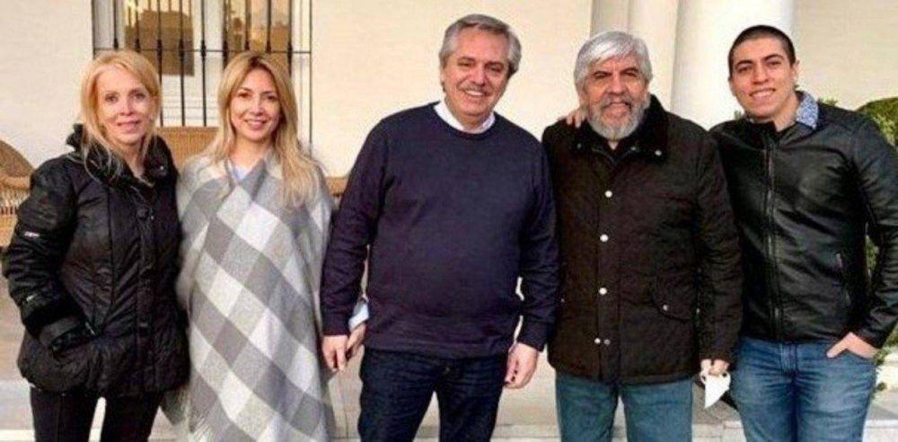 Alberto Fernández y Hugo Moyano almorzaron a solas en Casa Rosada