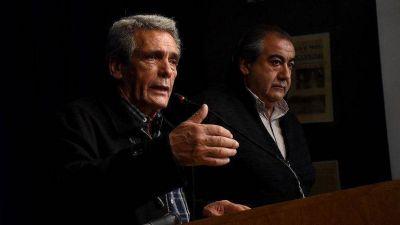 Fisuras en la CGT: enojado por la presencia de un líder piquetero, Acuña pegó el faltazo al encuentro de la central obrera con la misión del FMI