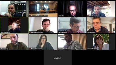El día después del banderazo y de la entrevista de Mauricio Macri, Rodríguez Larreta faltó al encuentro semanal de Juntos por el Cambio
