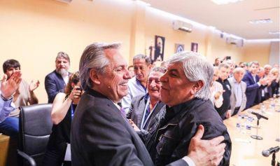 Tras del asado de la polémica, Moyano almorzó con Fernández y habló del Salario Mínimo y del 17 de octubre