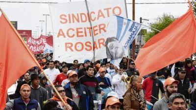 Dictaron conciliación obligatoria en el conflicto de los aceiteros