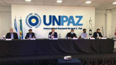 La UNPAZ firmó convenio de adhesión al Programa de Infraestructura Universitaria II
