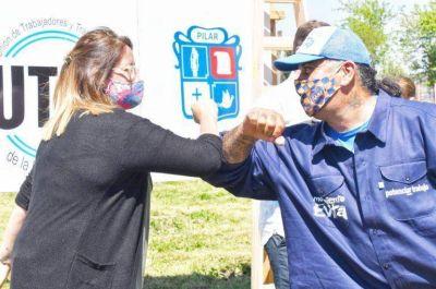 """Achával, Pérsico y Domínguez presentaron en Derqui la iniciativa """"Micaela García"""""""