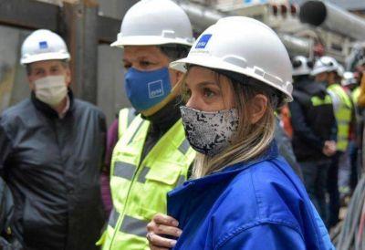 Malena Galmarini y Blanca Cantero recorrieron obras cloacales y que beneficiarán a más de 75 mil habitantes